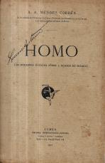 HOMO (OS MODERNOS ESTUDOS SOBRE A ORIGEM DO HOMEM)
