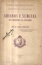 ARIANOS E SEMITAS NOS PRIMÓRDIOS DA CIVILIZAÇÃO