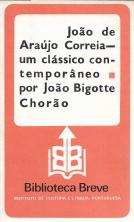 JOÃO DE ARAÚJO CORREIA-UM CLÁSSICO CONTEMPORÂNEO