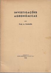 INVESTIGAÇÕES AGRONÓMICAS