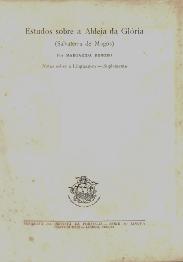 ESTUDOS SOBRE A ALDEIA DA GLÓRIA (SALVATERRA DE MAGOS)-NOTAS SOBRE A LINGUAGEM (III)