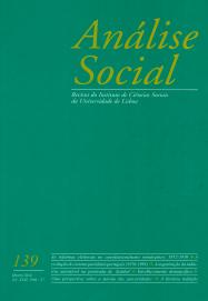 ANÁLISE SOCIAL-REVISTA DO INSTITUTO DE CIÊNCIAS SOCIAIS DA UNIVERSIDADE DE LISBOA