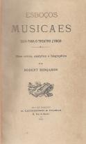 ESBOÇOS MUSICAES-GUIA PARA O THEATRO LYRICO