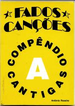 FADOS CANÇÕES  COMPÊNDIO-CANTIGAS