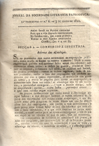 JORNAL DA SOCIEDADE LITERÁRIA PATRIÓTICA