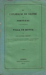 DA EXPLORAÇÃO DO SALITRE EM PORTUGALE COM PARTICULARIDADE NA VILLA DE MOURA