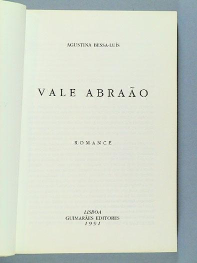 VALE ABRAÃO