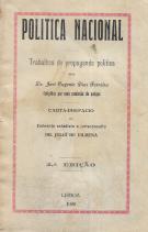 POLITICA NACIONAL-TRABALHOS DE PROPAGANDA POLÍTICA