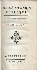 DE L'ÉDUCATION PUBLIQUE
