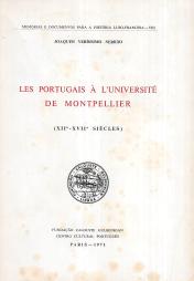 LES PORTUGAIS A L´UNIVERSITÉ DE MONTPELLIER (XII-XVII ÉME. SIÈCLES)