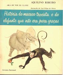 HISTÓRIA DO MACACO TROCISTA E DO ELEFANTE QUE NÃO ERA PARA GRAÇAS (ARCA DE NOÉ III CLASSE)