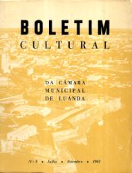 BOLETIM CULTURAL DA CÂMARA MUNICIPAL DE LUANDA