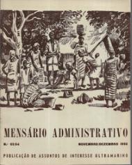 MENSÁRIO ADMINISTRATIVO-PUBLICAÇÃO DE ASSUNTOS DE INTERESSE COLONIAL