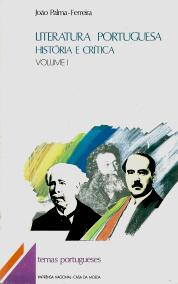 LITERATURA PORTUGUESA - HISTÓRIA E CRÍTICA