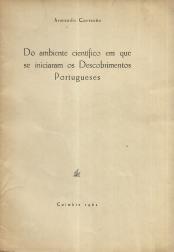 DO AMBIENTE CIENTÍFICO EM QUE SE INICIARAM OS DESCOBRIMENTOS PORTUGUESES