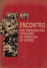 1º ENCONTRO DAS ORGANIZAÇÕES POPULARES DO CONCELHO DE LOURES