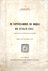 OS CAPITÃES-MORES EM ANGOLA NO SÉCULO XVIII
